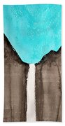 Bridalveil Fall Original Painting Sold Beach Towel