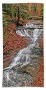 Bridal Veil Waterfall Beach Sheet