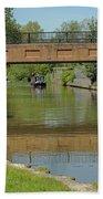 Bridge 238b Oxford Canal Beach Towel