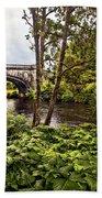 Bridge At Iveraray Castle Beach Towel
