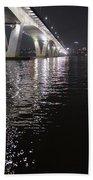 Bridge Korea Beach Towel