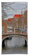 Bridge Of Delft Beach Towel