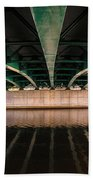 Bridge Over The Connecticut River Beach Towel