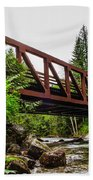 Bridge Over The Snoqualmie River - Washington Beach Towel
