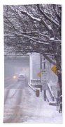 Bridge Street To New Hope Beach Towel