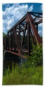 Bridge To A Time Gone By Beach Towel