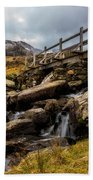 Bridge To Idwal Beach Towel