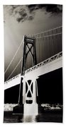 Bridge To Poughkeepsie 2 Beach Towel