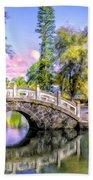 Bridges At Liliuokalani Park Hilo Beach Towel