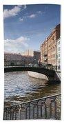 Bridges Of St. Petersburg Beach Towel