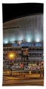 Bridgestone Arena - Nashville Beach Towel