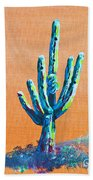 Bright Cactus Beach Towel