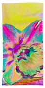 Bright Daff Beach Towel