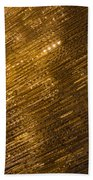 Brilliant Gold And Gems And Jewels Beach Towel