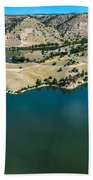 Brimmer Point Of Guernsey State Park Beach Towel