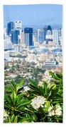 Brisbane Cbd Beach Towel