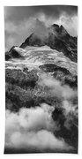 British Columbia Tantalus Mountain Range Beach Towel