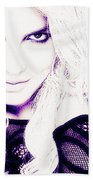 Britney Spears Beach Towel