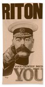 Britons Your Country Needs You  Beach Towel