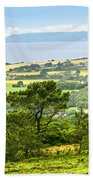 Brittany Landscape With Ocean View Beach Towel by Elena Elisseeva