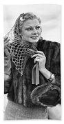 Broadway Actress Claire Luce Beach Towel