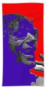 Broadway Joe Namath Telling Football Story C.c. And Co. Set  Tucson Arizona 1970-2012 Beach Towel