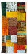 Brocade Color Collage 1.0 Beach Towel