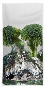 Broccoli Freshsplash Beach Towel