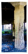 Broken Columns Beach Towel