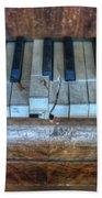 Broken Keys Beach Towel