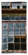 Broken Windows Beach Towel by Paul Ward