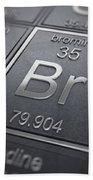 Bromine Chemical Element Beach Towel