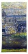 Bromley Mill At Cuttalossa Farm Beach Towel