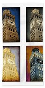 Bromo Seltzer Tower Quad Beach Towel