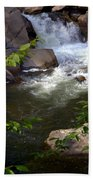 Brook Of Tranquility Beach Towel