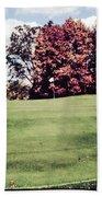 Brookhill Golf Course Beach Towel