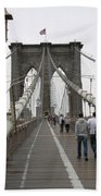 Brooklyn Bridge II Beach Towel