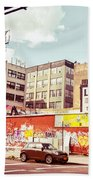 Brooklyn - New York City - Williamsburg Beach Towel
