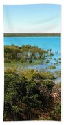 Broome Mangroves Beach Towel