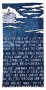 Brotherhood Of The Sea Beach Towel