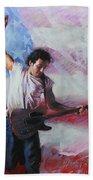 Bruce Springsteen The Boss Beach Towel
