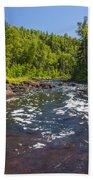 Brule River 1 Beach Towel