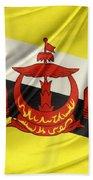 Brunei Flag Beach Towel