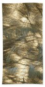 Brushed Metal  Beach Towel