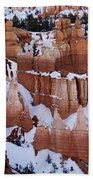 Bryce Canyon In Winter 2 Beach Towel