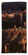 Bryce Canyon National Park Hoodo Monoliths Sunrise Southern Utah Beach Towel