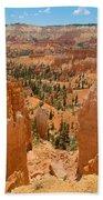 Bryce Canyon Valley Walls Beach Towel