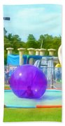 Bubble Ball 4   Beach Towel