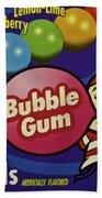 Bubble Gum Beach Towel