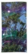 Bubble Tree Beach Towel